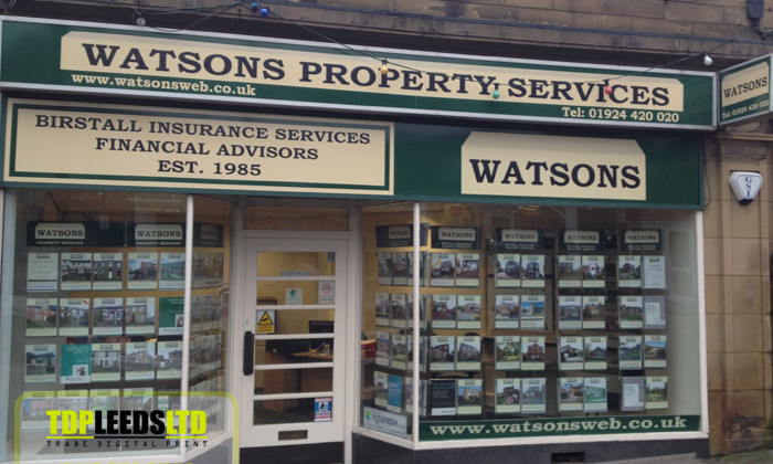 TDP Leeds signs for Watsons Estate Agents