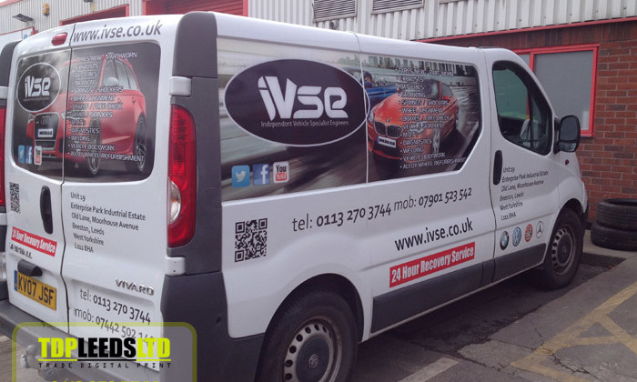 TDP Leeds vehicle graphics